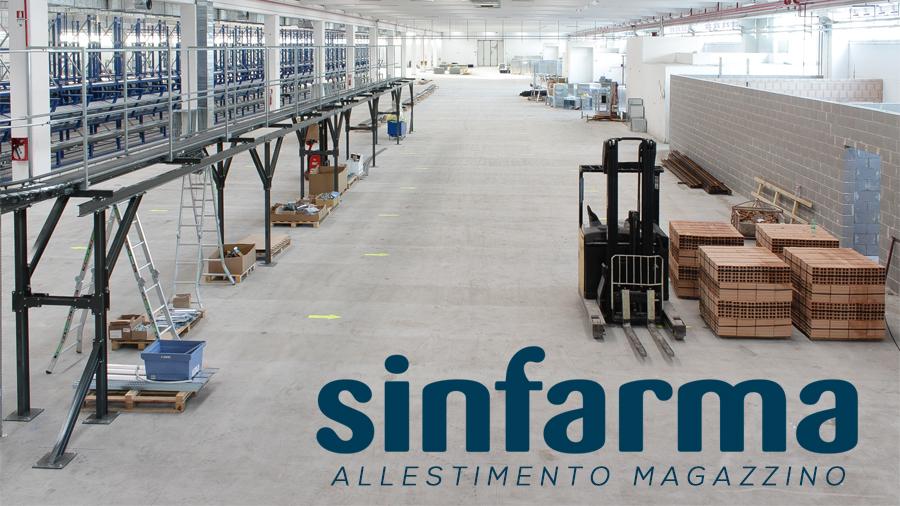 time lapse cantiere roma - allestimento magazzino