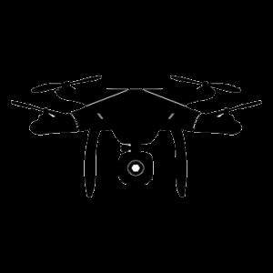 telecamera cantieri - drone