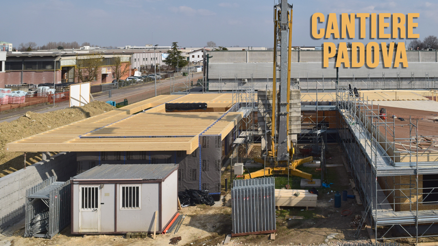 time lapse cantiere padova - cantiere edile