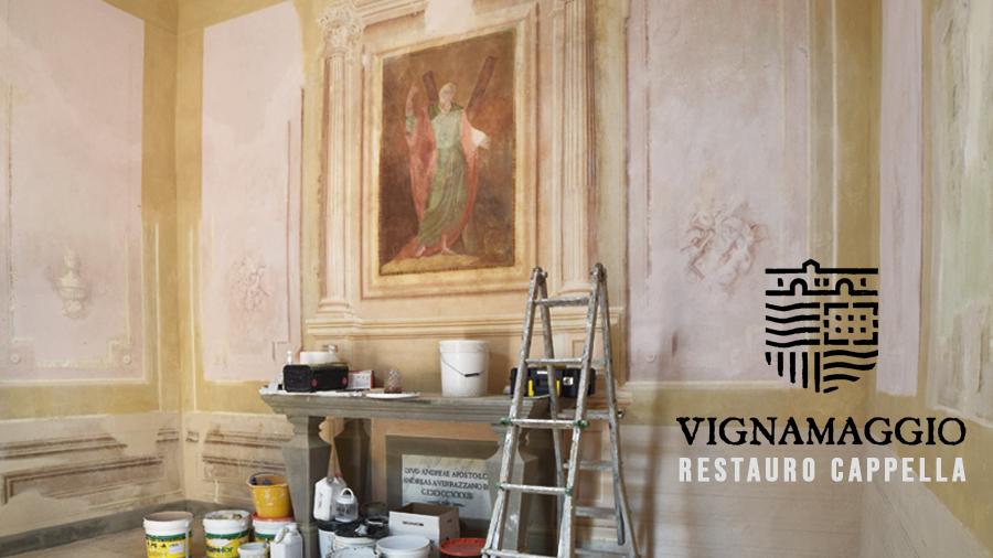 time lapse restauro artistico - toscana